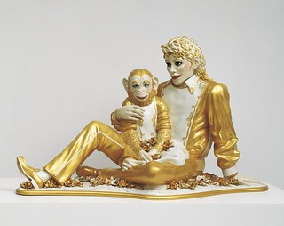 Koons_Michael Jackson and Bubbles