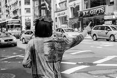 Hailing (Kai Karos) Tags: newyork cab taxi hailing