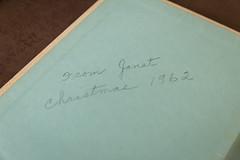 inside the (vintage) entertainment book (jojoannabanana) Tags: handwriting vintage book penmanship cursive