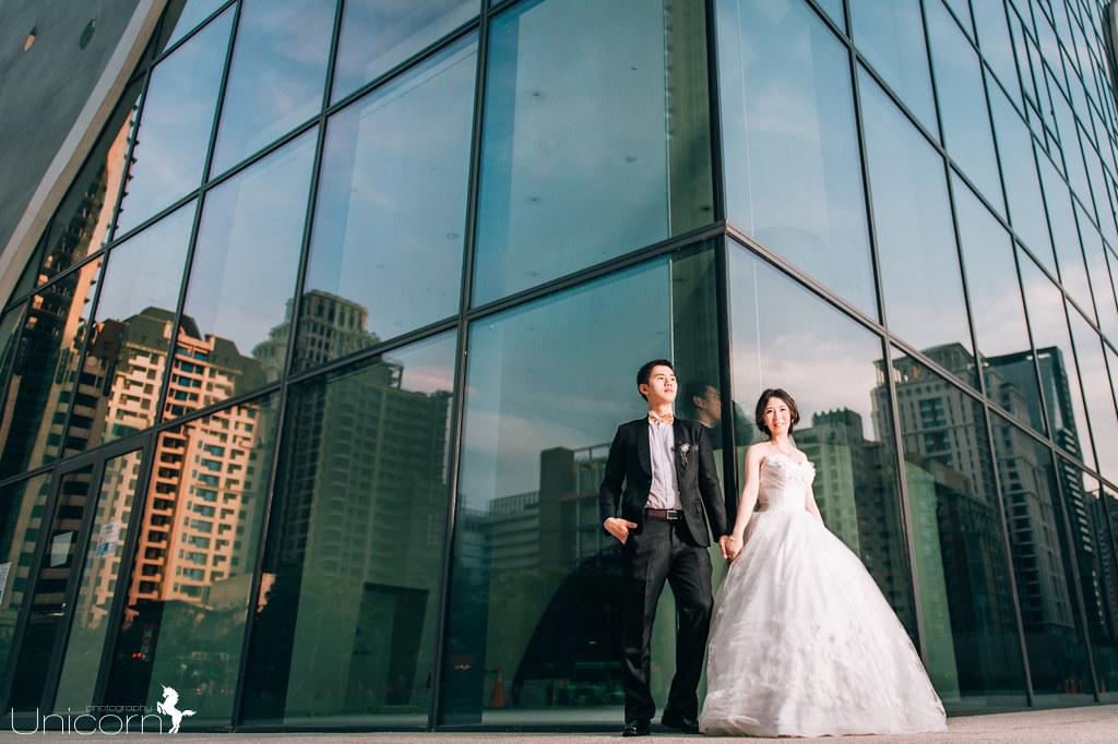 《台中婚紗》彥翔 & 佩瑜 / 台中國家歌劇院