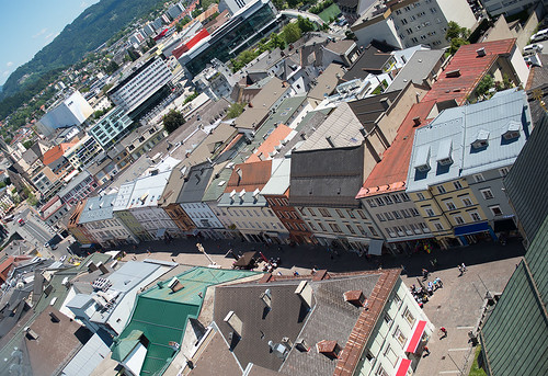 Roofs of Villach #3 ©  Andrey