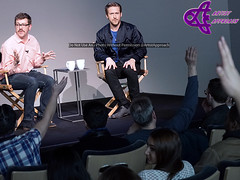 "Meet The Filmmaker: Ryan Gosling ""Lost River"" (ArtistApproach) Tags: new york city nyc newyorkcity podcast ny newyork drive ryan manhattan applestore april gosling lostriver thenotebook applestoresoho ryangosling 2015 ituneslive breakerhigh meetthefilmmakers aaronhillis younghercules seanhanlon meetthefilmmaker ryanthomasgosling"
