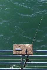A pesca - Fishing (Rana Saltatrice) Tags: sea fish water eos rebel fishing mare hobby pole acqua amo pesca bait canna sl1 esca canon100d