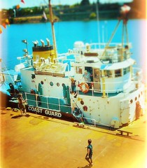 Scenes from a river dock (TMimages PDX) Tags: people usa water river geotagged photography photo dock ship waterfront image tourists explore photograph portlandoregon willametteriver waterway fineartphotography uscoastguard flickrexplore explored iphoneography
