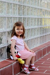Hédi (PinkPetra) Tags: pink baby playing cute girl canon outside mouse 50mm kid toddler hungary outdoor adorable mickey cutie 7d kiddo lovely baba szeged 2yearsold 3p 2015 hédi pinkpetraphotography horváthpetra