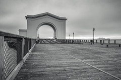San Francisco Fisherman's Wharf (JAKE PINEDA) Tags: ocean california bridge white black water architecture buildings landscape golden bay nikon gate san francisco cal wharf area fishermans norcal nikkor northern hdr f3545 2485 d810