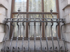 Grindlays & Co. (maggie jones.) Tags: london uk grade2listed railings ironwork