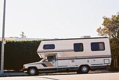 Roadtrippin' (Marc Rodriguez 24) Tags: kodak ultramax gold 400 nikon f3 f3hp nikkor 50mm 14 5014 ais prime lens c41 color negative film grain analogue analog los angeles la california street daylight motorhome rv