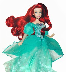 Princess Twirls (They Call Me Obsessed) Tags: disney princess princesses little mermaid ariel royal parks world disneyland resort store doll dolls barbie new ooak designer rare fish
