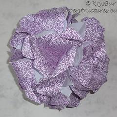 Magnetism (K16032) (Origami Spirals) Tags: curler twirl spiral fold paper burczyk origami folding art krysbur