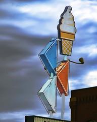 Zesto! (Pete Zarria) Tags: southdakota icecream sign neon smalltown color grunge dessert malt shake sundae