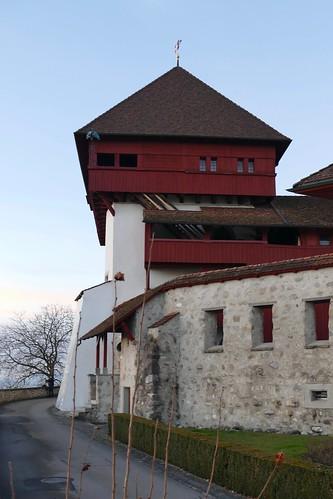 Turm Roten Hohenrain Switzerland