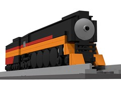 Micro Daylight (Bowtied Trombone) Tags: mini micro train lego daylight