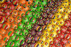 20/365 Taste the Rainbow ([inFocus]) Tags: canon 100mm macro 100 sweets rainbow taste skittles colours creative refraction reflection water drop droplets studio tabletop table 365 3652017 project365 imagination 5d 5dmkiv