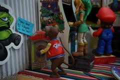 DSC06322 (IGypsyWoman) Tags: retrogaming nintendo mario link muppets rizzo kermit toyphotography
