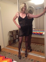 Ready for some action (Tina Martini) Tags: maid tranny transsexual transgender crossdresser femboy slutty cd sissy