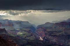 Grand Canyon (blue5011b) Tags: grandcanyon arizona southwest clouds sun ray river landscape nikon d5100
