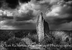 Blue Man in the Moss (tomrichardson931) Tags: offthebeatentrack northyorkmoors rugged outdoor moors monochromephotography scene wild yorkshire remote wildness scenic desolate england standingstone landscape bluemaninthemoss uk europe