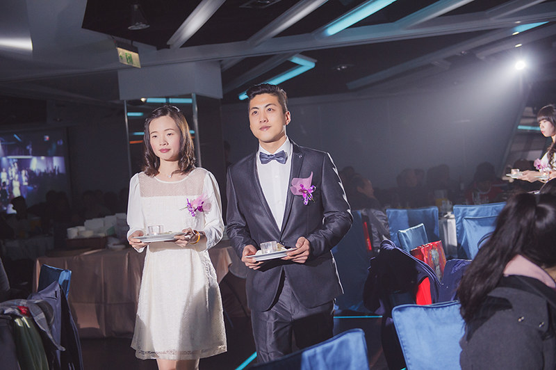 [台中婚攝] 偵育 & 渝雯 / 非常棧婚禮會館