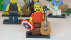 Captain Acoustic Brick Yourself Custom Lego Figure