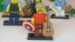 Captain Acoustic Brick Yourself Custom Lego Figure