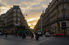 Sunrise in Paris (DanielKent) Tags: sun sunrise clouds sky city rush rushhour