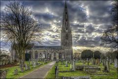 Olney Church 3 (Darwinsgift) Tags: olney church buckinghamshire england st peter paul cowper newton hymns hdr pce nikkor 24mm f35 mf nikon d810 photomatix pro 5