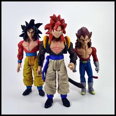 1 Year In A Toybox 3, 028_365 - Super Saiyan 4 Fusion (Corey's Toybox) Tags: actionfigure figure toy anime dragonballgt dbgt goku supersaiyan4 ss4 vegeta gogeta fusion 1yearinatoybox3