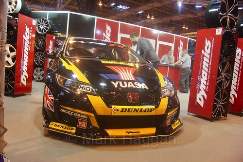 Team Halfords at the Autosport International Show 2017