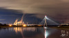 Like A Machine (Tim van Zundert) Tags: flintshire bridge flint north wales connahs quay power station river dee estuary reflection smoke plume electricity pylons night evening long exposure sony a7r zeiss 55mm sel55f18z