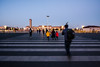Rushing to the Square (China Chas) Tags: 1022mm 2017 beijing china tiananmensquare flagraisingceremony sunrise
