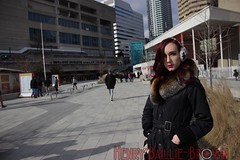 IMG_8008 (Henrybailliebro) Tags: paulina melancolia cosplay blue toronto cn tower rogers center exposure aperature aperture iso blur backround day background photography person woman red hair coat winter to ontario canada people portrait portraiture outdoors cold outside aquarium ripleys downtown city canadian eh