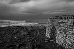 Lime Kiln (evans.photo) Tags: ceredigion aberystwyth borth sea coast coastalpath wales clouds seascape kiln limekiln