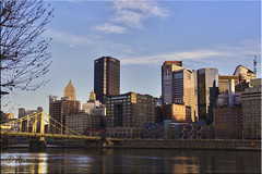 A Visit To The City (Aquamarine Images) Tags: pittsburgh citylife tallbuildings bridges lakes aquamarineimages steelers steelerscity pittsburghsteelers pittsburghpenguins