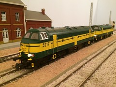 Roco SNCB 5217 & 5317 (Neil Sutton Photography) Tags: dcc sound serie53 serie52 class53 class52 belgianrailways modelspoor 187 homodel ho modeltrain modelrailway nohab 5317 5217 nmbs sncb roco