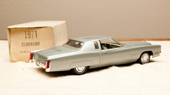 1971 Cadillac Eldorado Promo Model Car - Grenoble Silver Poly (coconv) Tags: car cars vintage auto automobile vehicles vehicle autos photo photos photograph photographs automobiles antique picture pictures image images collectible old collectors classic promotional dealership plastic scale promo model smp amt mpc johan revell hubley 125 124 banthrico sample kit coupe history historical dealer toy miniature 125th 1971 cadillac eldorado grenoble silver poly 71 2 door hardtop