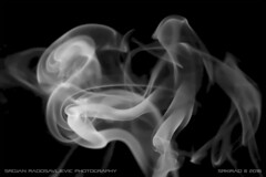 Smoke art: Explosion (srkirad) Tags: indoor smoke art smokeart bw black white
