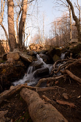 Santa Fe Waterfall (Hachimaki123) Tags: santafe santafedelmontseny montseny parcnaturaldelmontseny paisaje landscape water waterfall cascada agua