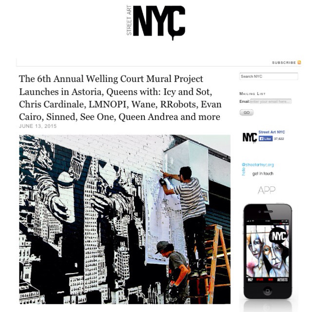 The 6th Annual Welling Court Mural Project with Icy and Sot and more