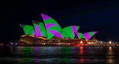 Sydney Opera House (jasond363) Tags: house holiday night dark lights opera sydney vivid australia