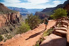 The Road To Plateau Point (Patrick Gensel) Tags: travel summer girl nationalpark spring desert grandcanyon canyon hike hiker brightangeltrail plateaupoint neverstopexploring brightangelcanyon