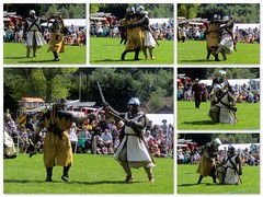 Medieval Madness! (Mike-Lee) Tags: sunshine collage sheffield picasa medieval reenactors medievalmadness oughtibridge june2015 httpwwwknightsinbattlecom