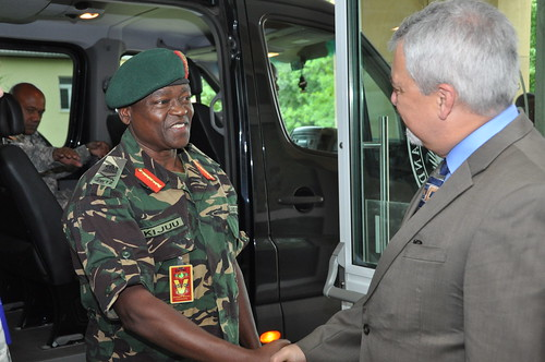 Tanzanian military leaders visit U.S. Army Africa