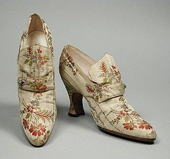Exquisite Shoes, Paris, Circa 1918 (thegryphonsnest) Tags: paris france fashion french photography shoes dancing embroidery artnouveau footwear dancingshoes 1918 tbt womensfashion throwbackthursday