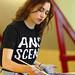 Vera Wilde, artist-in-residence at Hack42. Because Art & Science!