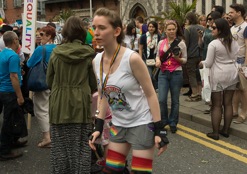 DUBLIN 2015 LGBTQ PRIDE PARADE [WERE YOU THERE] REF-105961