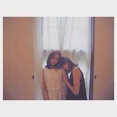 moeka & ayami #kakiuchiayami#models#friends#垣内彩未