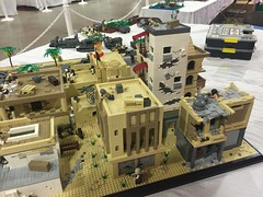 VA BrickFair 2015 Military The Battle of Ramadi (EDWW day_dae (esteemedhelga)) Tags: bricks battle minifigs ramadi the minifigures edww daydae esteemedhelga militaryvabrickfair2015brickfairlegomocafol