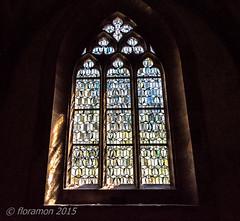 Monastery Maulbronn (Floramon) Tags: shadow church window glass kirche monastery schatten muster glas kloster nikond3200 2015 textur maulbronn klostermaulbronn monasterymaulbronn