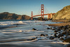 Marshall's Beach - San Francisco (Jeremy Duguid) Tags: marshalls beach baker san francisco west western coast pacific bay bridge rock sand ocean long exposure waves dusk evening sunset winter fall jeremy duguid sony landscape nature